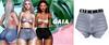 Gaia - mykie denim shorts//cloudy