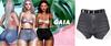 Gaia - mykie denim shorts//grey