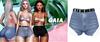 Gaia - mykie denim shorts//blue