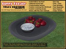 BF - Bunny Feeder V1.7   - Tray edition - for Ozimals