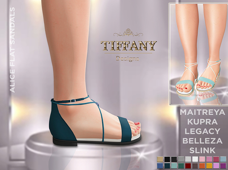 ::TD:: Alice Flat Sandals