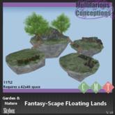 [MC] Fantasy-Scape Floating Lands (wear to unpack)