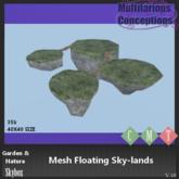 [MC] Mesh Floating Sky-lands (wear to unpack)