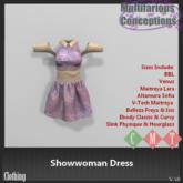 [MC] Showwoman Dress (wear to unpack)