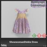 [MC] ShowwomanDinkie Dress (wear to unpack)