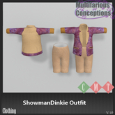 [MC] ShowmanDinkie Outfit (wear to unpack)