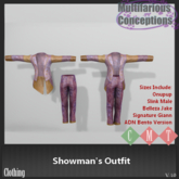 [MC] Showman's Outfit (wear to unpack)