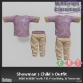 [MC] Showman's Child's outfit (wear to unpack)