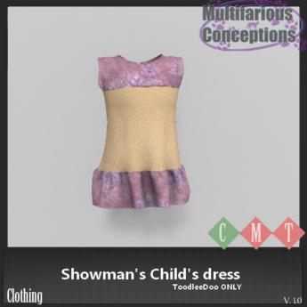 [MC] Showman's Child's dress (wear to unpack)
