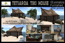 PROMO! 1K OFF!Tetiaroa Tiki House (full  furnished- Beach house - Tropical house