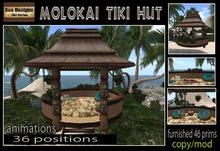 PROMO PRICE!!!!Molokai Tiki Hut box