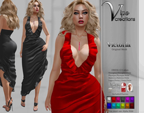 [Vips Creations] - Original Mesh Dress - [Victoria]FITTED-Formal Gown Dress