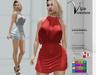 [Vips Creations] - Original Mesh Dress - [Susan]FITTED-Female Dress