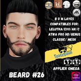 #TS# Beard #26 BOM - Lel Evo/Catwa HD Pro/AK/ Classic