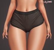 _CandyDoll_ Diane Shorts Black