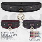 *OAL* Eternal Life Collar & Cuffs ~ Complete (add me)