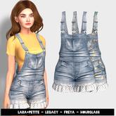 (fd) Cutiepie Overalls - Denim (LARA + PETITE, HOURGLASS, FREYA & LEGACY)