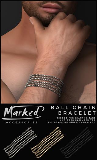 MARKED - Ball Chain Bracelet