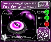 * New Network Teleport V 3 * Menu *