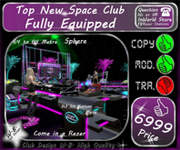 * Club Spaceball * Fully Equipped *