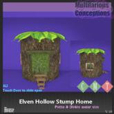 [MC] Elven Hollow Stump Home petite & dinkie (wear to unpack)