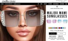 [Cinnamon Cocaine] Malibu Mami Glasses