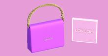 Karma Queen   Vibe!   Purple mini-bag   LOVCOM.