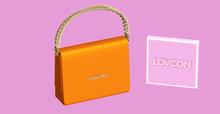 Karma Queen   Juicy!   Orange mini-bag   LOVCOM.