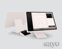 SAYO - Register - Blanc
