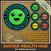 ★ NEW! ★ Avatar Health HUD - Advanced avatar measuring tool