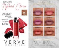 VERVE - Natural Charm - Lipstick Palette - leL {BoM Only}