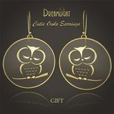 [Dreamlight] Cute Owl Earrings - Gift