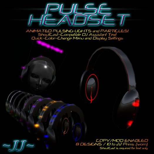 ~JJ~ Pulse Headset (updated)