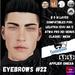 #TS#  Eyebrows #22 BOM - Lel Evo/Catwa HD Pro/ Classic