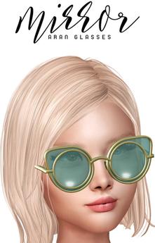 MIRROR - Aran Glasses Silver