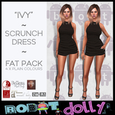 RD - Ivy - Scrunch Dress - Fat Pack - Plain