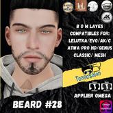 #TS# Beard #28 BOM - Lel Evo/Catwa HD Pro/AK/ Classic