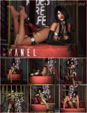 BellePoses - Chanel (Cage Chair)