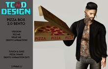 Pizza Box [Give Pizza Share ~ 2.0 [Bento]...