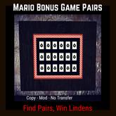 Mario Bonus Game Pairs [Moon Bunny Inc.]