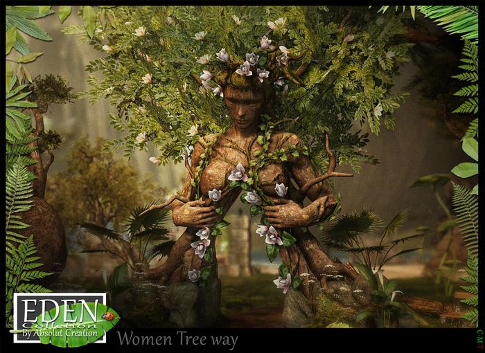 (*.*) EDEN Women tree way