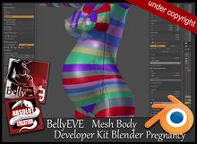 EVE Developer Kit Body BellyEVE Pregnancy  Blender