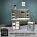 Home by JLZ - White Wash Desk [box]