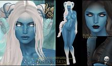 -Elemental- Blue Fantasy Skin with BOM