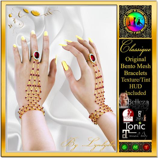 Bento Jewel Finger Bracelets