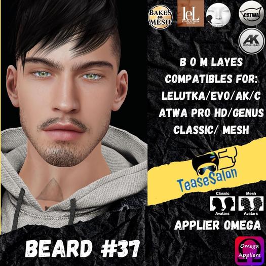 #TS# Beard #37 BOM - Lel Evo/Catwa HD Pro/AK/ Classic