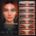 Nuve. Lucy eyebrows (tintable) - Catwa HDPRO/Genus/Evo/Evo X