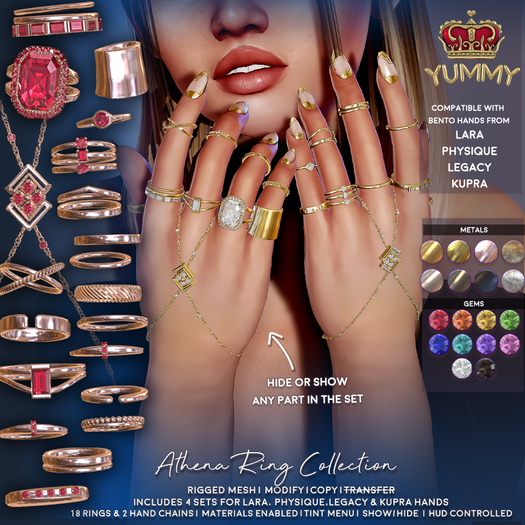 (Yummy) Athena Ring Collection