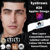 #TS#  Eyebrows #24 BOM - Lel Evo/Catwa HD Pro/ Classic