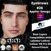 #TS#  Eyebrows #26 BOM - Lel Evo/Catwa HD Pro/ Classic